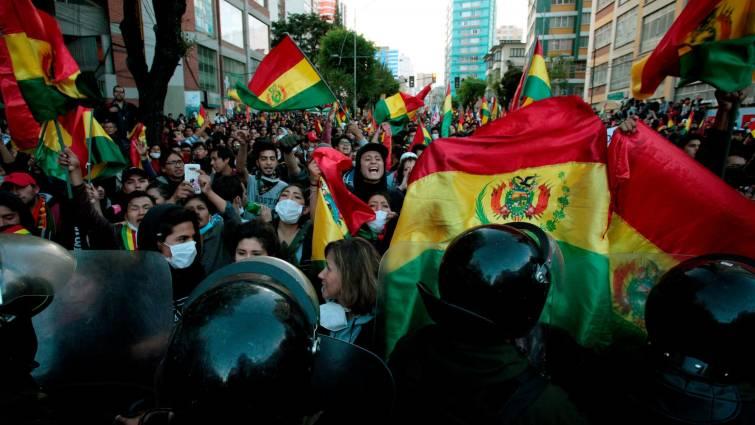 ORDEN felicita a los bolivianos por el derrocamiento de Evo Morales